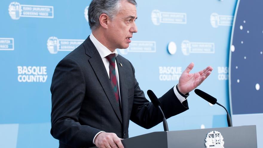 """El lehendakari dice que Puigdemont abre """"un tiempo para dar la oportunidad al diálogo"""" y espera que """"sea aprovechada"""""""