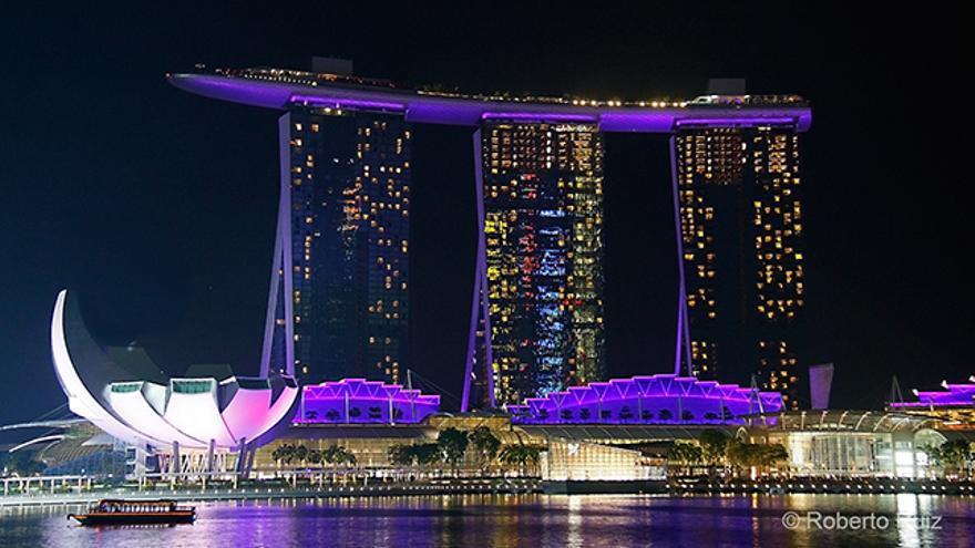 Singapur, Marina Bay y el hotel Marina Bay Sands
