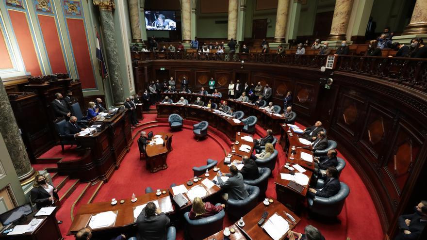 El Senado uruguayo vota artículos del Presupuesto tras aprobar el proyecto de ley