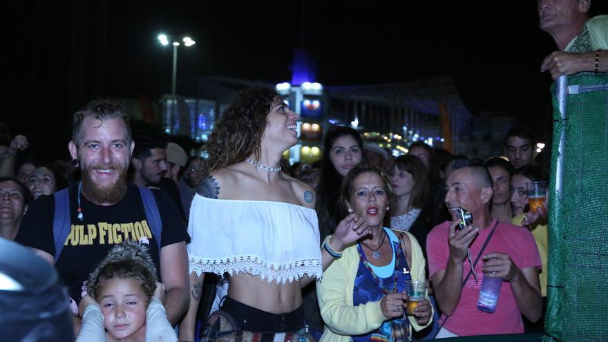 Público en Santa Catalina. (Alejandro Ramos).