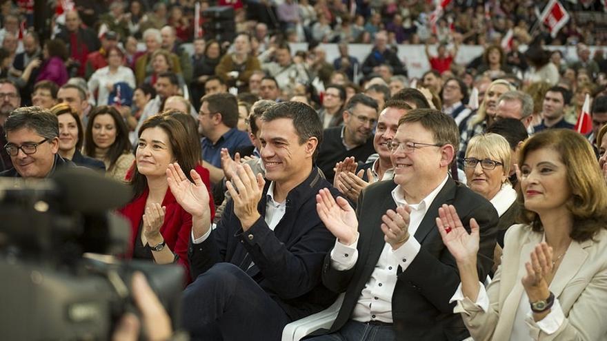 """Pedro Sánchez: """"Con un gobierno socialista la Comunidad Valenciana tendrá la financiación que se merece"""""""
