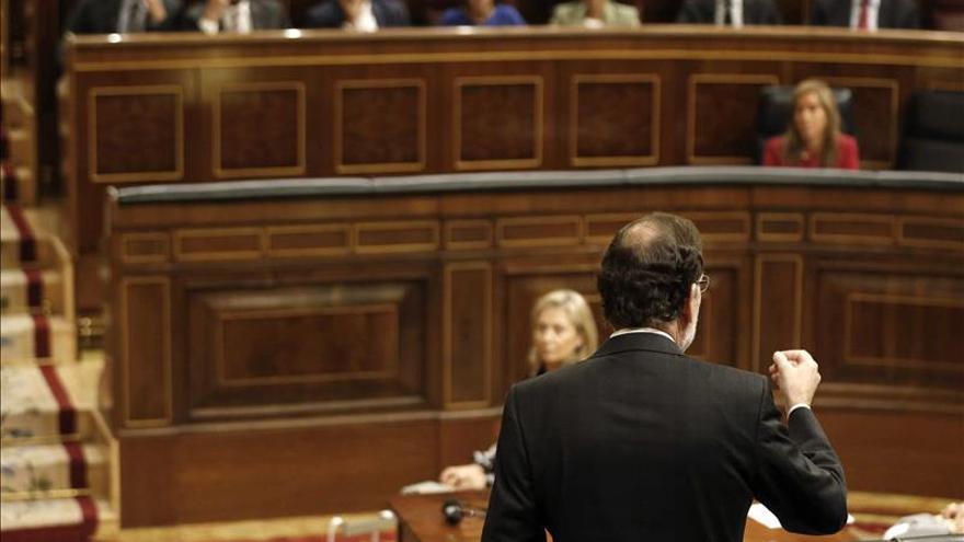 Rajoy advierte a Mas de que la política no es la alternativa a aplicar la ley