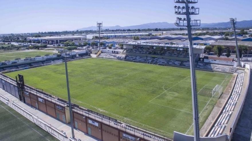 Estadio Municipal de Reus, feudo del Reus Deportiu.