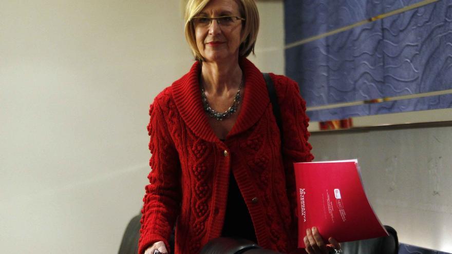 """Rosa Díez subraya su """"aportación clave"""" al tránsito de la dictadura a la democracia"""