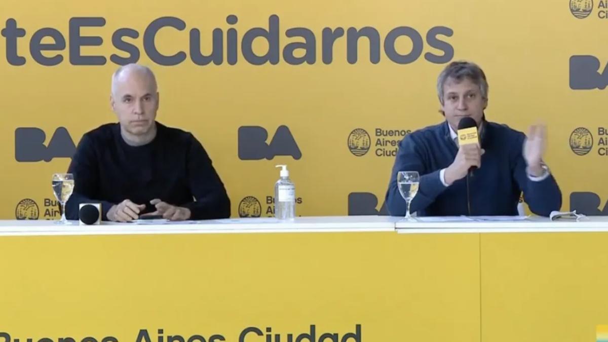 Esta vez, no habrá conferencias de prensa de Rodríguez Larreta y su gabinete