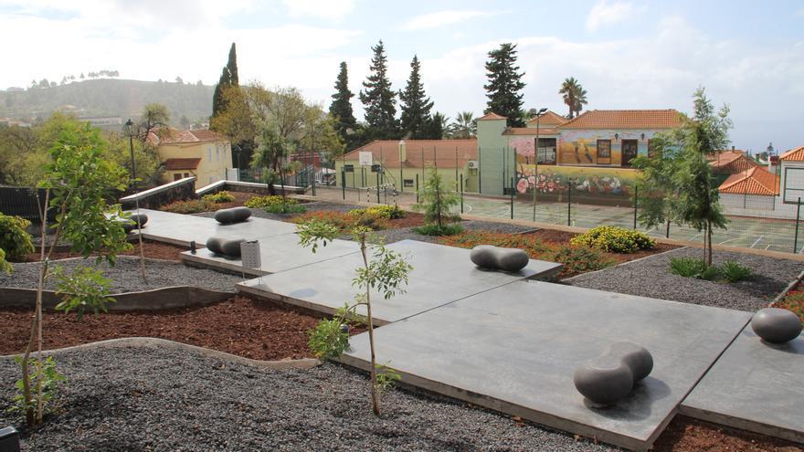 El Ayuntamiento ha realizado obras en el IES de Puntagorda.