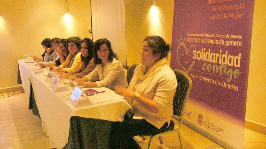 Taller contra la violencia de género en Almería
