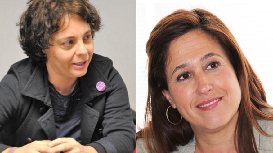 Diputadas de Castilla-La Mancha en la Mesa del Congreso