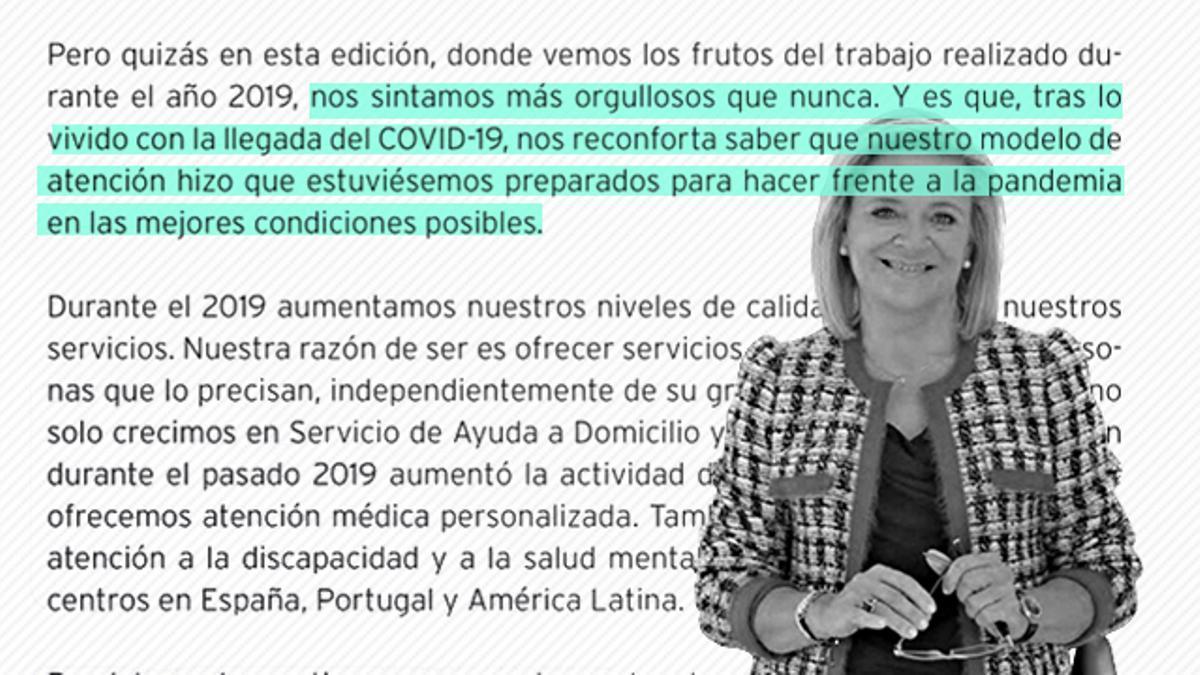 Josefina Fernández, consejera delegada de DomusVi España
