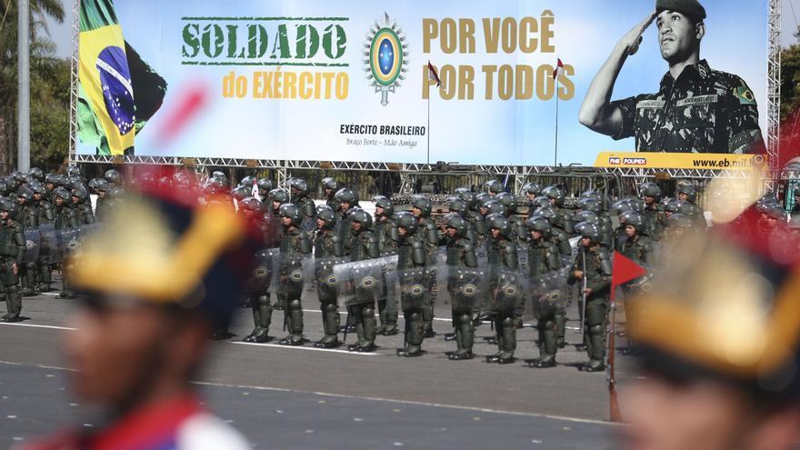 El Día del Soldado en Brasil