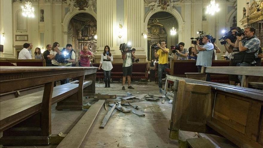 """El """"Comando Mateo Morral"""" reivindica la colocación del artefacto del Pilar"""