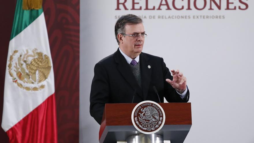 El canciller mexicano sostiene un diálogo con el nuevo secretario de Estado de EE.UU.