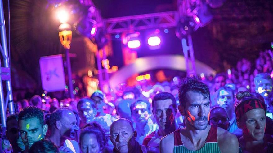 Imagen de archivo de la Neon Run.