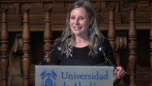 """Araceli Martínez, premio 'Francisca de Pedraza': """"La igualdad no es un fruto espontáneo de la sociedad, ni siquiera de la democracia"""""""
