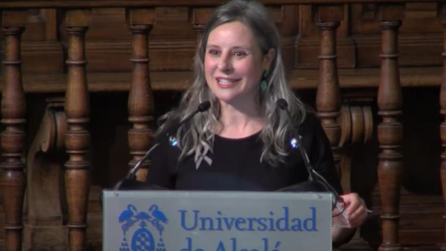 Araceli Martínez recibió el premio Francisca de Pedraza contra la violencia de género