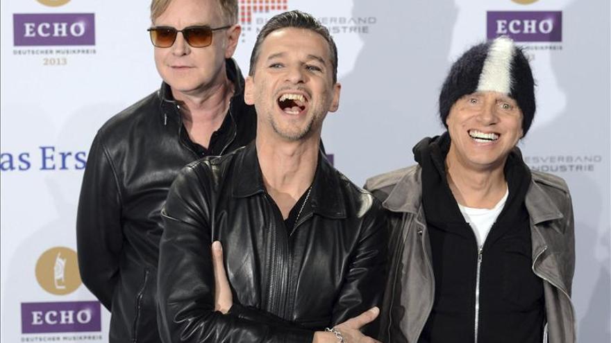 Depeche Mode presentará su nuevo álbum en Barcelona y Madrid en enero de 2014