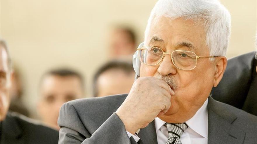 """Abás dice que """"cooperará"""" con Trump para traer el estado a los palestinos"""
