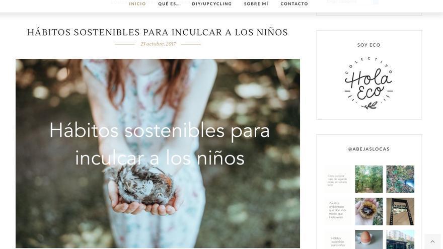 Un ejemplo de una de las noticias publicadas en el blog 'La Hipótesis Gaia'