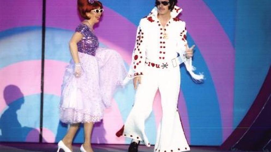 José Manuel Soria disfrazado de Elvis en unos Carnavales de Las Palmas de Gran Canaria