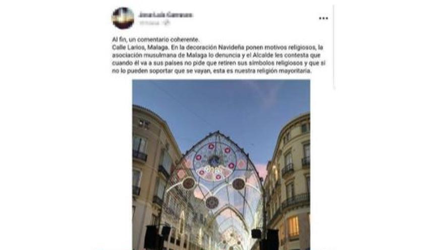 Bulo sobre asociación musulmana en Málaga