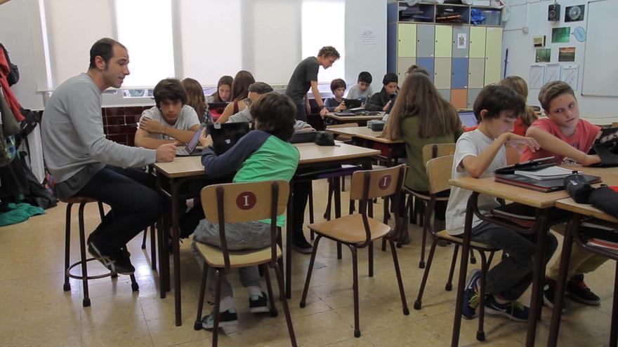 La escola Sadako, en Barcelona, integrada en la red de Escuelas Changemaker de Ashoka.