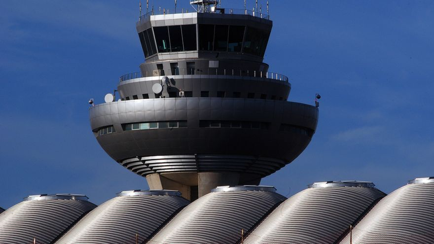 Torre control en Madrid-Barajas