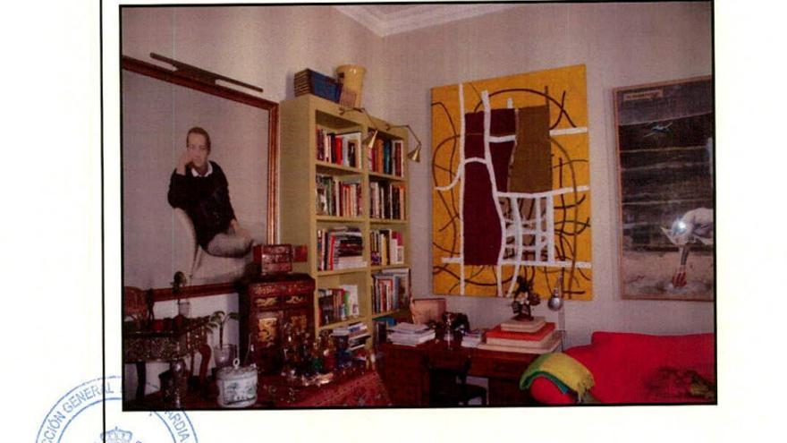 La sala de estar de Michael Trevor Langdon, el blanqueador de la Púnica