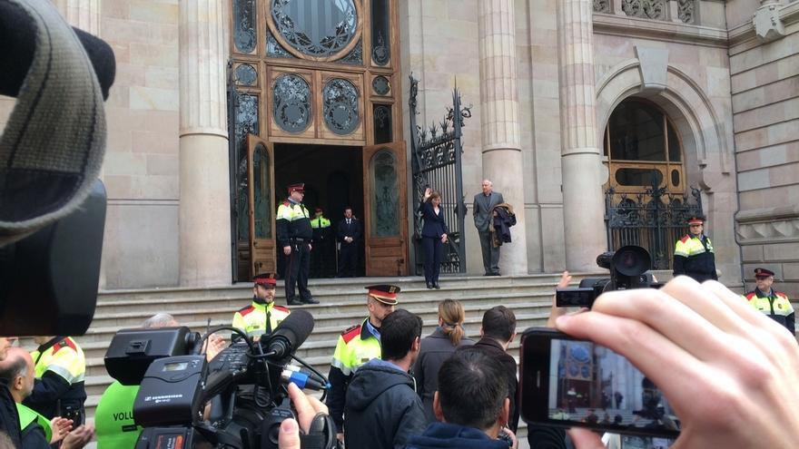 """Carme Forcadell apela al TSJC para que defienda su """"inviolabilidad"""" parlamentaria"""