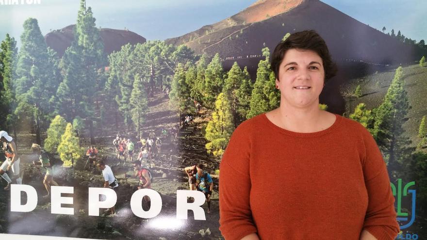 Ascensión Rodríguez (CC) es consejera de Deportes del Cabildo de La Palma. Foto: LUZ RODRÍGUEZ