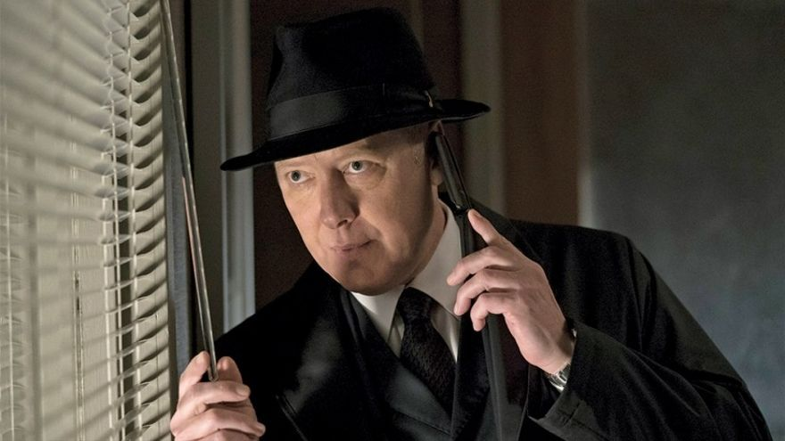 James Spader como 'Red' en The Blacklist. © 2018 Sony Pictures Television Inc. All Rights Reserved.