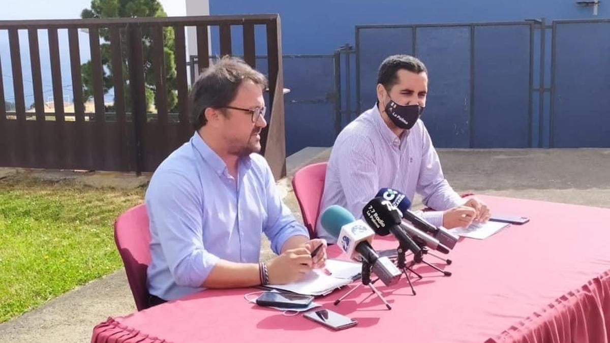 Asier Antona Gómez y Borja Pérez Sicilia.