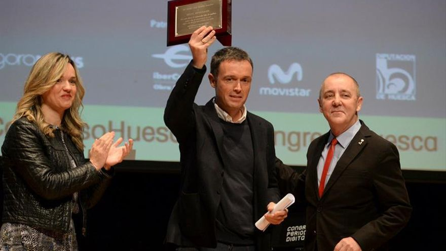 Mikel Ayestarán gana el V Premio Internacional Cátedra Manu Leguineche