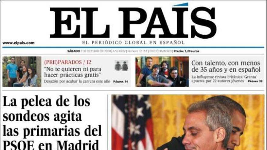 De las portadas del día (02/10/2010) #6