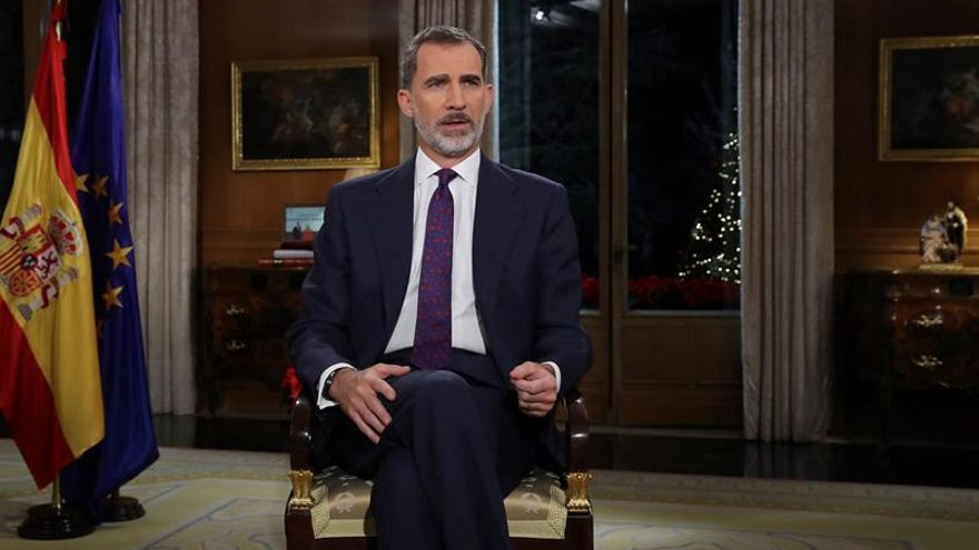 Los partidos, salvo nacionalistas, aplauden que el rey llame a la convivencia