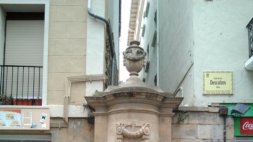 El Ayuntamiento de Pamplona culmina la restauración en cuatro de las cinco fuentes monumentales del Casco Antiguo