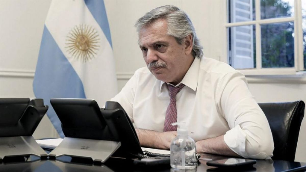 Alberto Fernández participó por videoconferencia de una audiencia de mediación con Patricia Bullrich. No hubo acuerdo.