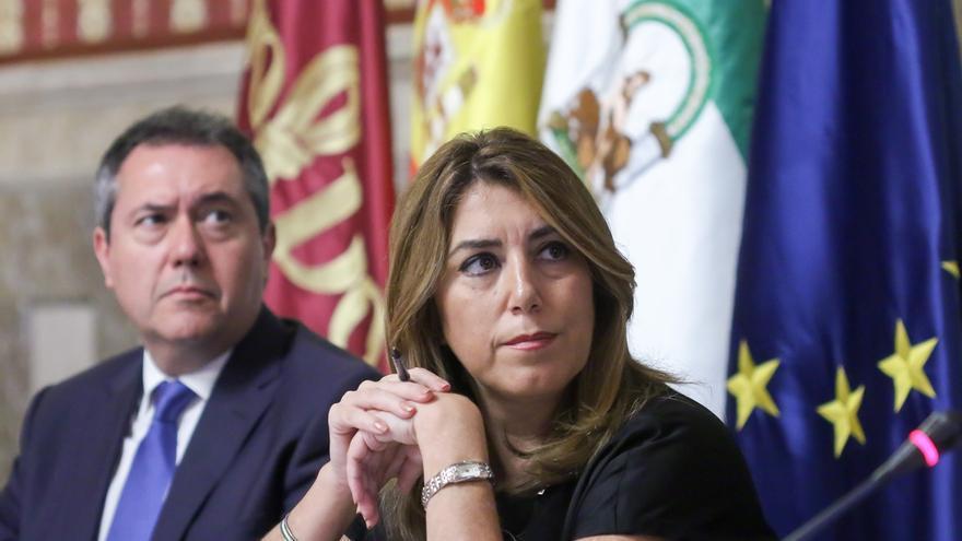 """Susana Díaz: """"Se ponen fronteras cuando los ciudadanos necesitan espacios libres de convivencia y entendimiento"""""""
