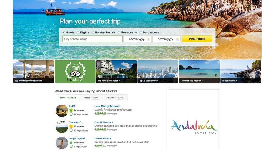 Junta lanza una campaña en portales de viajes internacionales para captar turistas en temporada baja