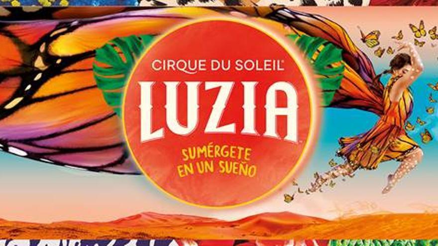 Espectáculo LUZIA, del Circo del Sol