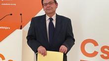 José Ramón de Lorza (Ciudadanos) presentó candidatura a la Presidencia de la Junta castellano-manchega