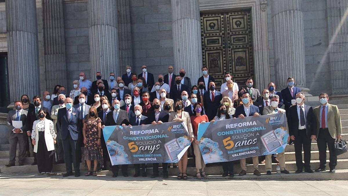 Representantes valencianos reclaman la recuperación del derecho civil.