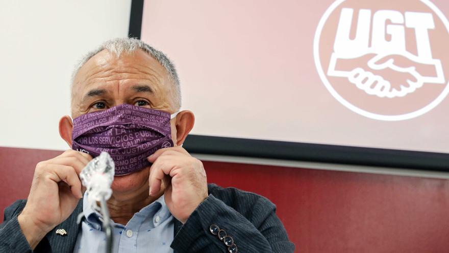 Álvarez (UGT) espera tener la ley de teletrabajo este mes y un acuerdo rápido en los ERTE