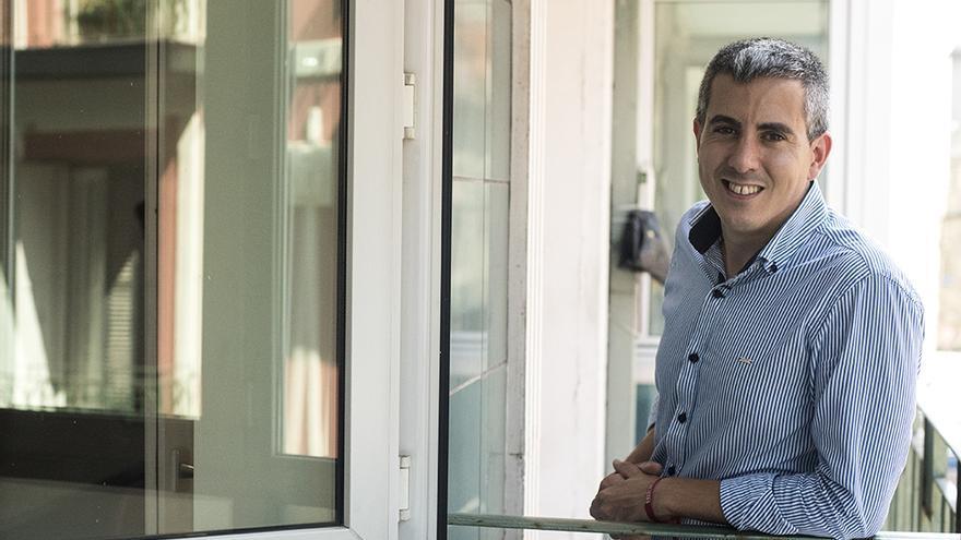 Pablo Zuloaga, secretario general del PSOE de Cantabria. | JOAQUÍN GÓMEZ SASTRE