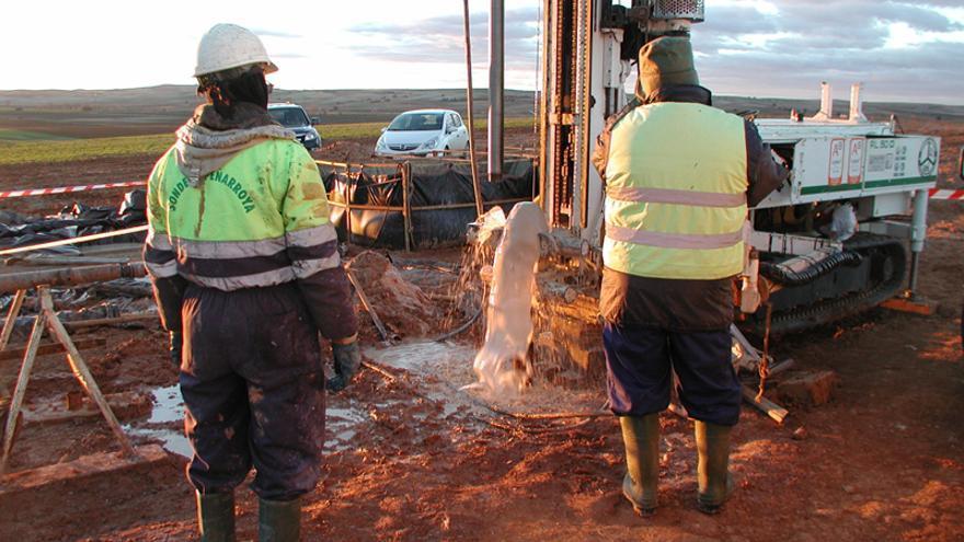 Sondeos de caracterización del suelo para el silo nuclear de Villar de Cañas / Enresa.