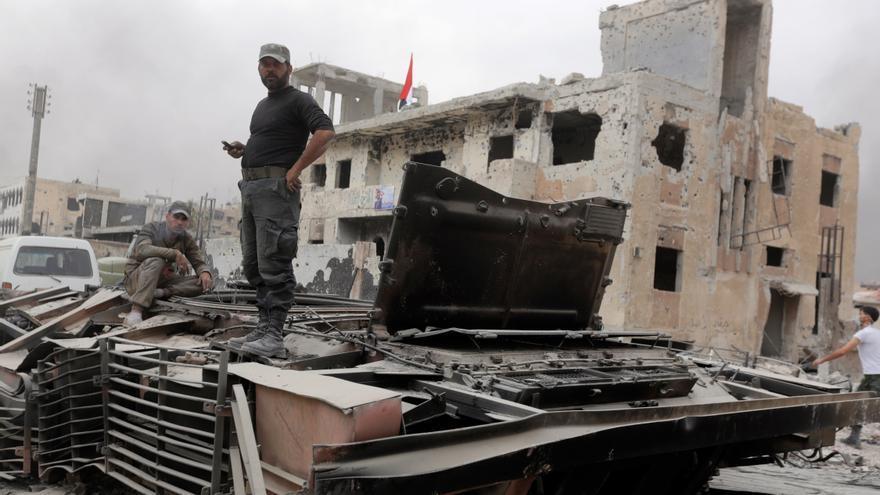 Continúan los choques en las inmediaciones de la ciudad siria de Ain Issa