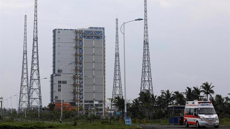 El carguero espacial chino completa su tercer acoplamiento con laboratorio