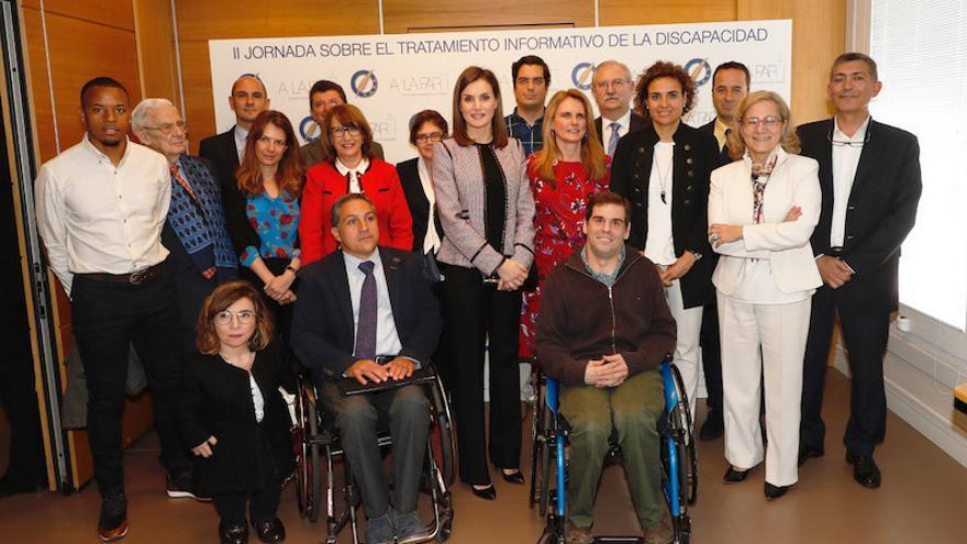 Participantes en la Jornada sobre Tratamiento Informativo de la Discapacidad: los Medios de Comunicación en las Redes Sociales