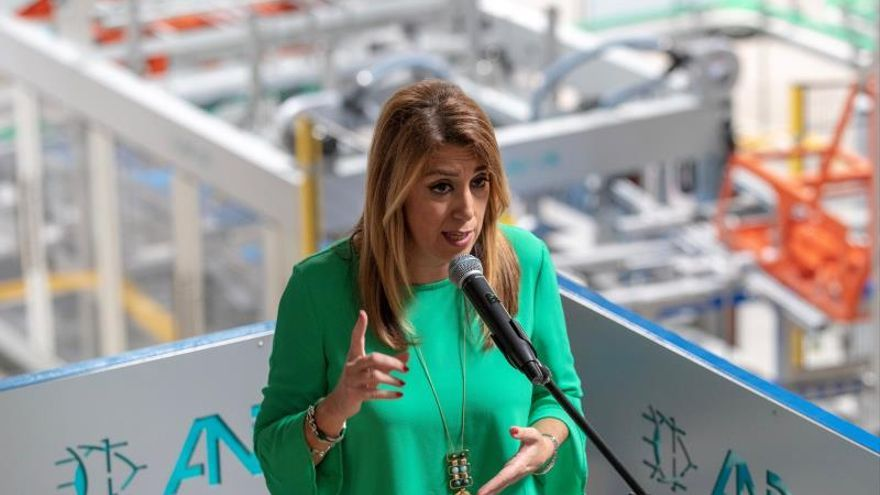 Susana Díaz confía en que las pretensiones del PNV en los PGE no perjudiquen a Andalucía