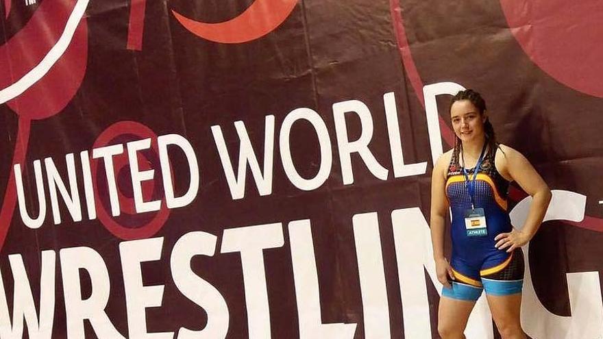 Andrea Molina, la luchadora jienense