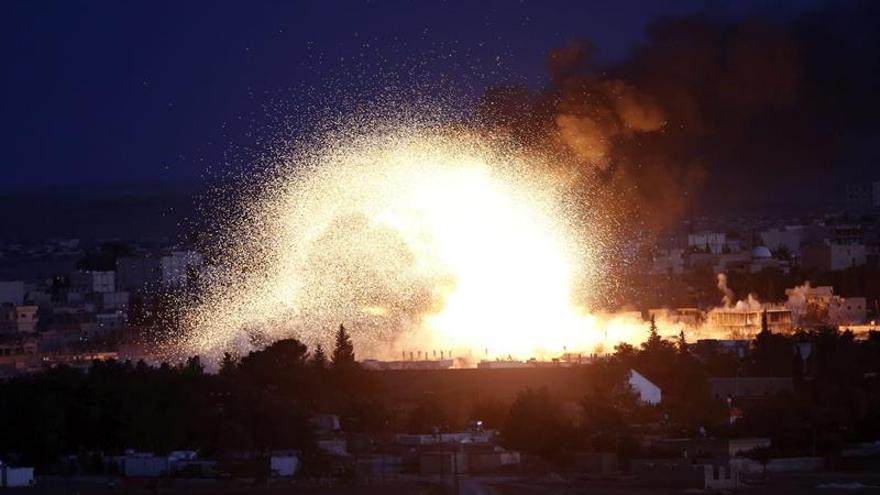 Más de 5.400 muertos en bombardeos de la coalición internacional en Siria